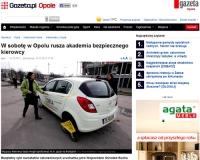 Akademia Bezpiecznego Kierowcy w WORD Opole