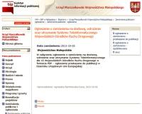 Opublikowano zamówienie dot. systemu teleinformatycznego dla 15. WORD-ów