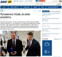 3. Rynasiewicz deklaruje kontynuację dotychczasowej polityki resortu
