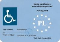 Za nieuprawnione posługiwanie się kartą parkingową grzywna - 2 tys. zł