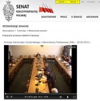 Komisja senacka o noweli ustawy o kierujących pojazdami