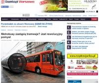 Czy pojedziemy metrobusem?