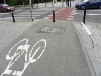 A co z paniami na rowerach?