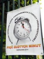 """""""Pięć złotych minut"""" na stołecznej Pradze"""