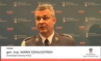 W każdym województwie zespoły do walki z piractwem drogowym - zapowiada gen. Działoszyński