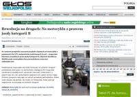 """Może, ci """"uwolnieni"""" motocykliści odblokują ulice miast?"""