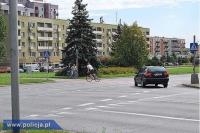 Błędy rowerzystów - wg policjantów