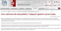 Sejm: Nowe ułatwienia dla motocyklistów i zdających egzamin na prawo jazdy