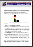 Wniosek o zmianę zapisów dotyczących sygnalizatorów S-2