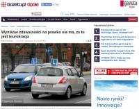Statystyki najlepszych szkół jazdy w Opolu?