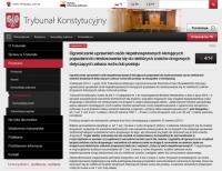 Trybunał Konstytucyjny dał resortowi czas do 30 czerwca 2015 r.