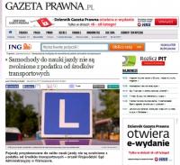 Podatek od środków transportowych, też za e-lkę?