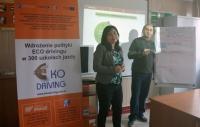 ZAMOŚĆ: Wdrożenie polityki eco-drivingu w 300 szkołach jazdy (15.3.2015)