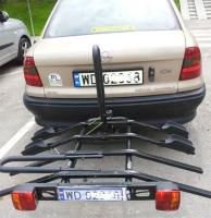 Trzecia tablica wciąż nielegalna. Więc jak przewozić rowery?