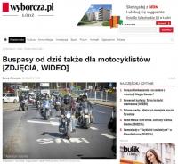 Czy motocykliści powinni jeździć po buspasach