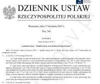 Ustawa o karach dla pijanych kierowców - opublikowana