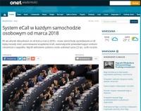 Parlament Europejski przyjął rozporządzenie dot. systemu eCall