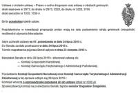 Bez poprawek w noweli Prawa o ruchu drogowym dot. straży