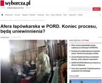 Na trzy lata więzienia i 60 tys. grzywny skazano b. egzaminatora