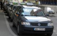 A może taksówka w zatoce przystankowej?