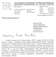Helsińska Fundacja Praw Człowieka ws. cudzoziemców przystępujących do egzaminu