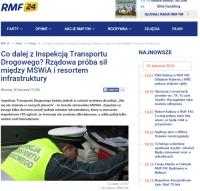 W miejsce ITD powstanie policyjna Służba Kontroli Drogowej? Czy rząd zmienił zdanie?