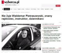 Odszedł nauczyciel i wychowawca - Waldemar Pietraszewski
