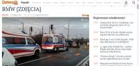"""Wypadek """"elki"""" tym razem w Łodzi"""