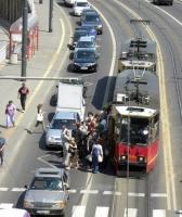A może przystanek wiedeński? Pamiętajcie o bezpieczeństwie pieszych
