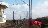 Wypadek na strzeżonym przejeździe kolejowym