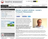 Tomasz Matuszewski: będziemy przygotowywali opinie, ale też propozycje zmian prawa