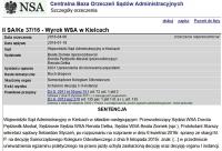 NSA: o stopniu szczegółowości informacji egzaminatora o popełnionym błędzie