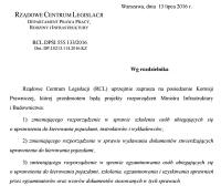 Nowela rozporządzenia o egzaminowaniu pod lupą komisji prawniczej RCL (cz. 1)
