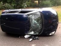 Wypadek pożyczonym samochodem