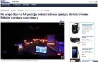 """Róbcie """"korytarz ratunkowy"""" - apeluje policja autostradowa"""
