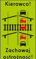 Niebezpieczne zachowania w rejonach przejazdów kolejowych