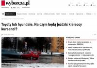 Wymiana pojazdów egzaminacyjnych, tym razem w Kielcach