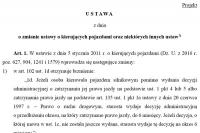 Projekt noweli ustawy już w Sejmie. Czyli tzw. szybka ścieżka