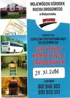 WORD Białystok przygotowuje do egzaminu na Certyfikat Kompetencji Zawodowych