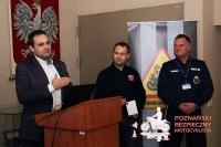Bezpieczny Poznański Motocyklista. Mówili o stworzeniu podstaw szkoleniowych