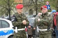 Żandarmi Wojskowi pozostają na ulicach