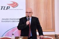Maciej Wroński sprawie zakazu wyprzedzania ciężarówek przez ciężarówki