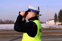 Policjanci wypatrują