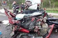 Na drogach zginęły 22. osoby (piątek-niedziela)