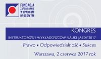Kongres Instruktorów i Wykładowców Nauki Jazdy'2017