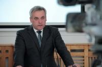 O silnych polskich firmach, o kontraktach drogowych - mówił wiceminister Jerzy Szmit