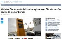 Minister Ziobro zmienia kodeks wykroczeń