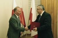 Wiceminister Marek Chodkiewicz