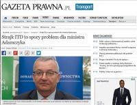 ITD: strajk włoski ITD, ministerialny projekt ustawy