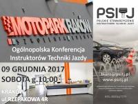 Ogólnopolska Konferencja Instruktorów Techniki Jazdy 2017